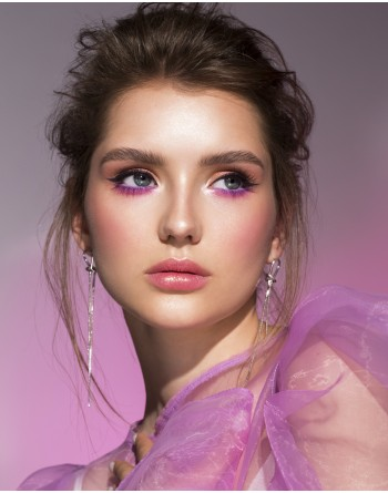 """ONLINE COURSE """"SHINE COMMERCIAL MAKE-UP AND NEON TREND"""" / ALEXANDRA LARINA"""